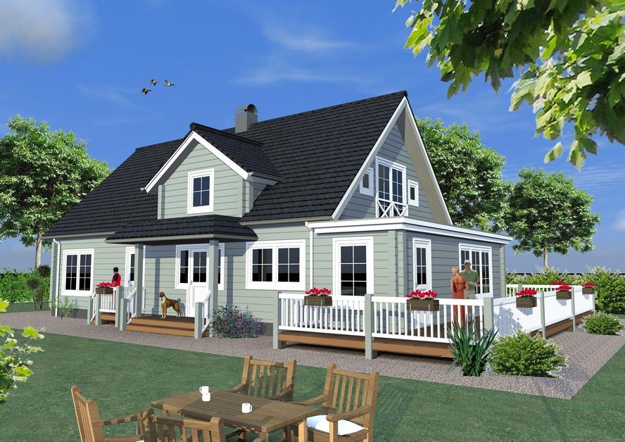 Generatiewoning Nordic EcoHome