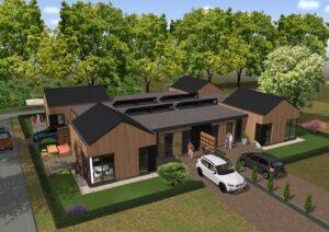 Tiendeveen duurzame bungalows
